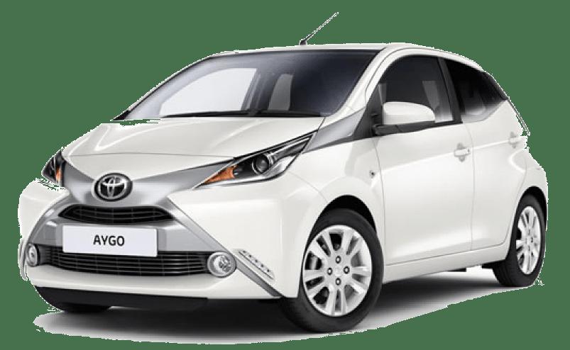 Toyota Aygo 1.0lit or similar